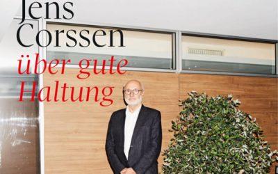 Jens Corssen über gute Haltung
