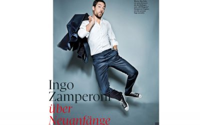 Ingo Zamperoni über Neuanfänge