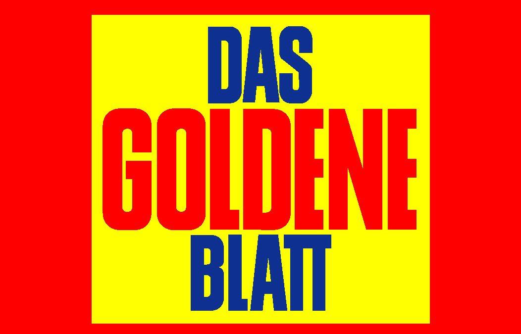 """Das goldene Blatt """"Toleranz ist extrem wichtig"""""""
