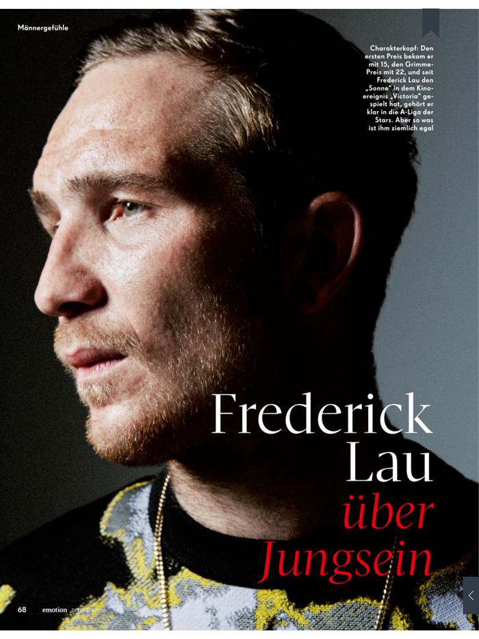 Frederick Lau übe...
