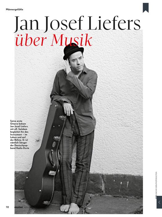 Jan Josef Liefers über Musik