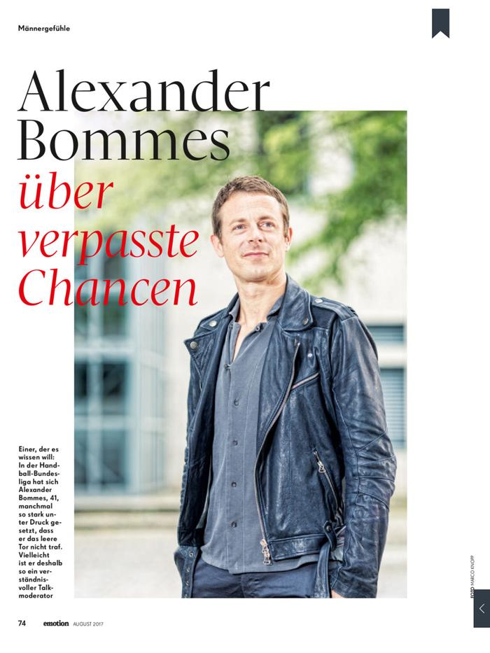 Alexander Bommes über verpasste Chancen im Interview mit Bärbel Schäfer