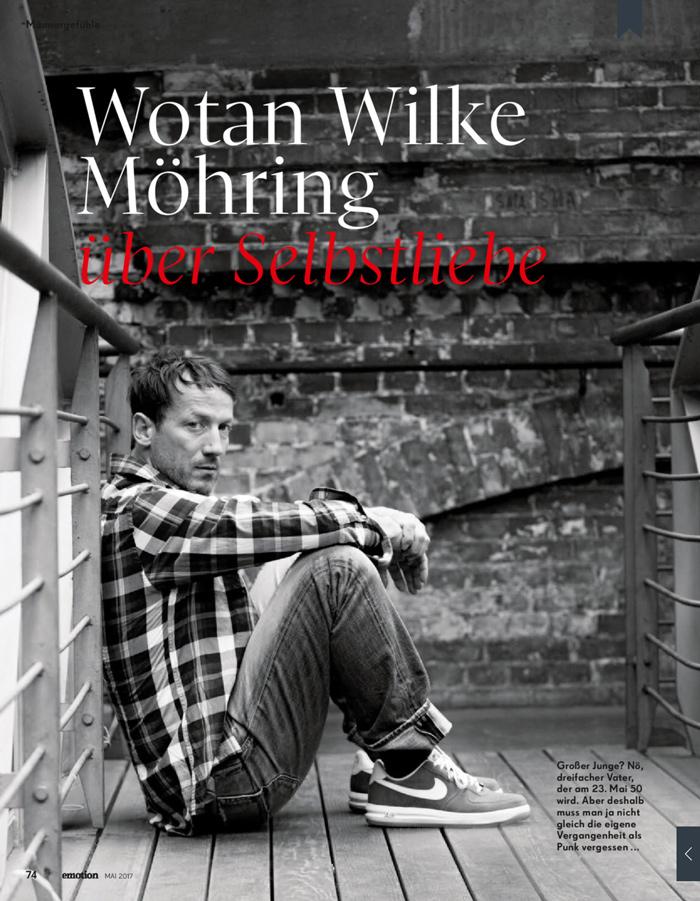 Wotan Wilke Möhring Interview mit Bärbel Schäfer