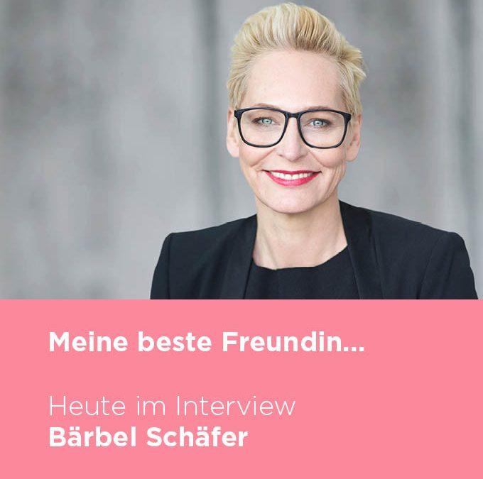 Bärbel Schäfer über ihre beste Freundin | BAUR Blog