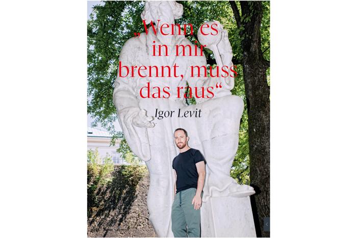 """Igor Levit """"Wenn es in mir brennt, muss das raus"""""""