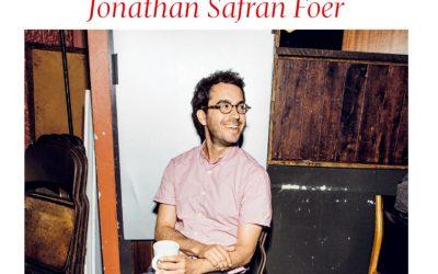 """Jonathan Safran Foer """"Weltretten, das fängt beim Frühstück an"""""""