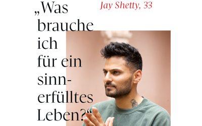 Jay Shetty – Was brauche ich für ein sinnerfülltes Leben?